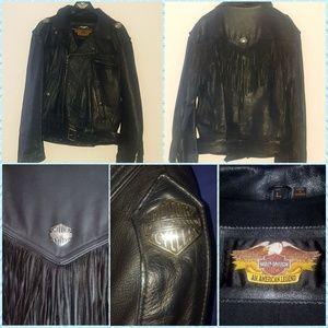 Men's Harley-Davidson leather jacket